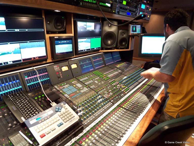 Ob Trucks Game Creek Liberty Live Production Tv