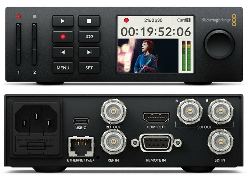 Blackmagic Design Announces Hyperdeck Studio Mini V7 1 Live Production Tv
