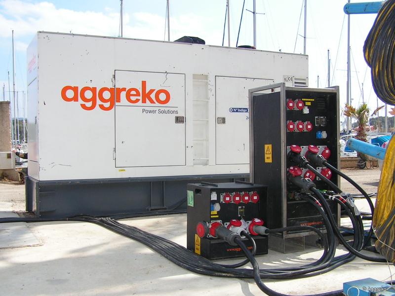 Mobile Power Aggreko Live Production Tv