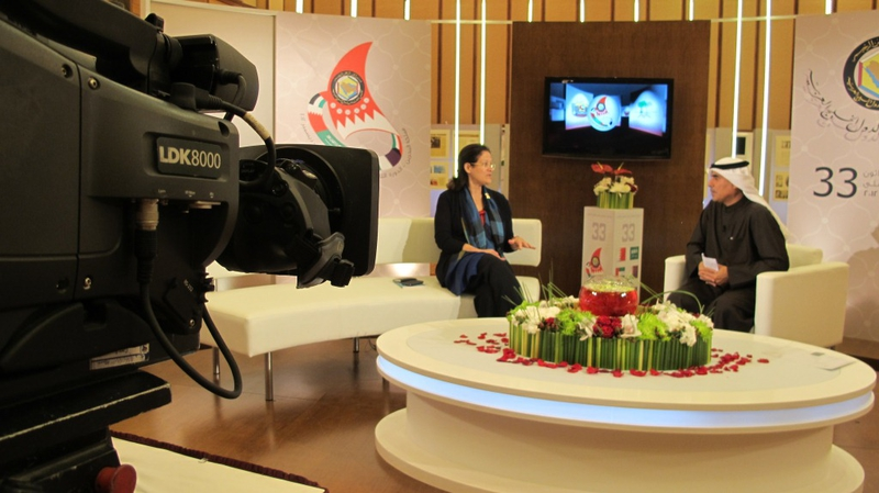 Alfacam Covers the GCC Summit 2012 in the Kingdom of Bahrain LIVE