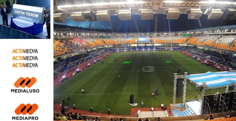 Turkish Pm Inaugurates New Istanbul Football Stadium