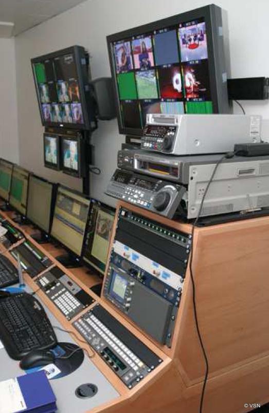 Benfica Tv A Complete Hd System Of News Production Master Control