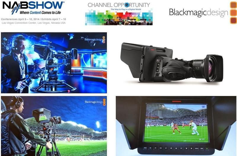 Blackmagic Design Announces Blackmagic Studio Camera Live Production Tv