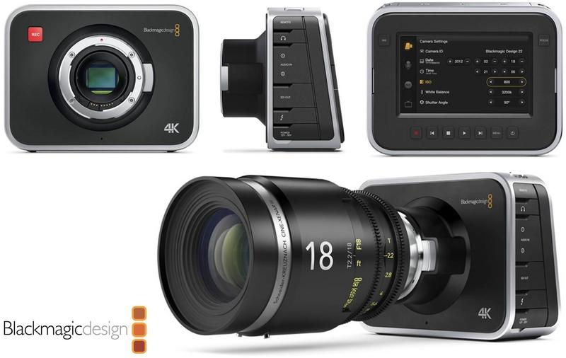 Blackmagic Design Announces Blackmagic Production Camera 4k Live Production Tv