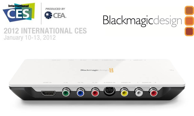 Blackmagic Design Announces New Intensity Shuttle With Thunderbolt Technology Live Production Tv