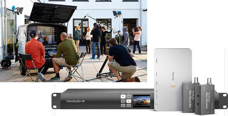 Blackmagic Design Announces Ultrastudio 4k With Thunderbolt 2 Technology Live Production Tv