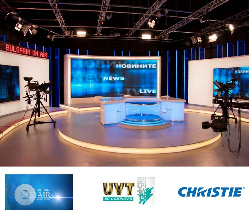 Major Christie MicroTiles Displays For Bulgaria On Air's New