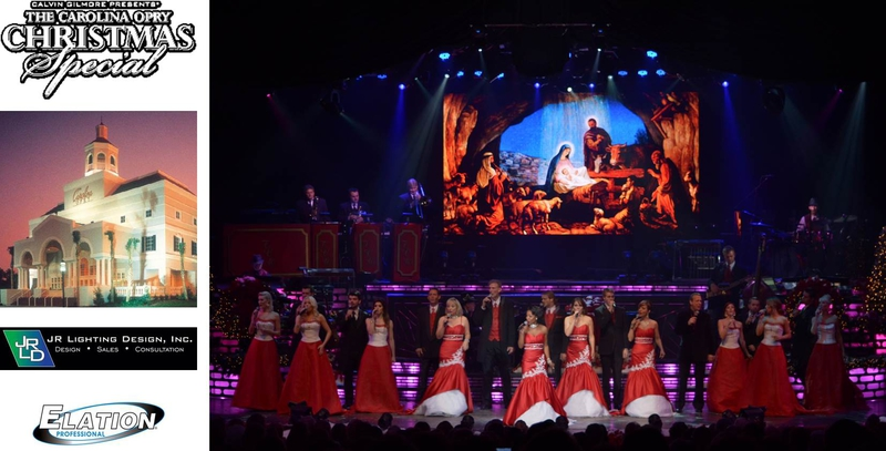 annual christmas show gets visual boost from high resolution ez6 led video panel backdrop the carolina opry
