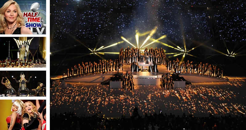 Clay Paky Lights Up Madonna S Stage At The Super Bowl