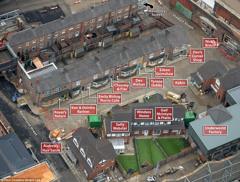 Google Maps Coronation Street Tour