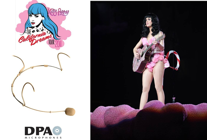 Katy Perry Relies On Dpa S Headset Mics For California