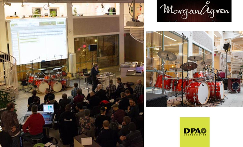 DPA Microphones Help Morgan Ågren Demonstrate Drum Miking