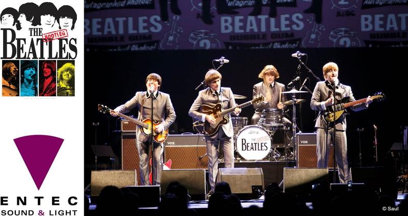 Entec Lights Bootleg Beatles Tour | LIVE-PRODUCTION TV