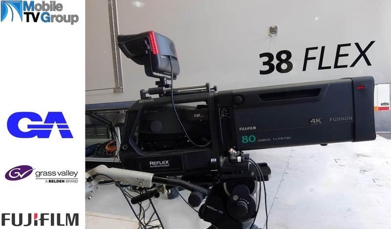 ... from Mobile TV Group to Showcase Fujinon 4K Zoom  LIVE-PRODUCTION.TV