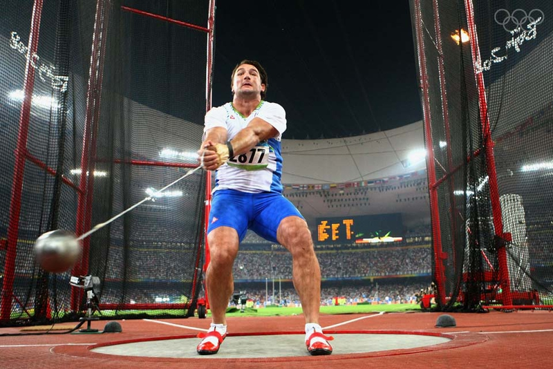 Olympic Games 2012: Athletics | LIVE-PRODUCTION.TV Hammer Throw Technique