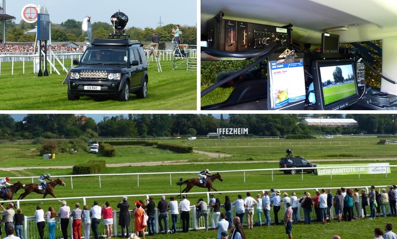 Setting New Standards in Image Quality for Horse Racing in
