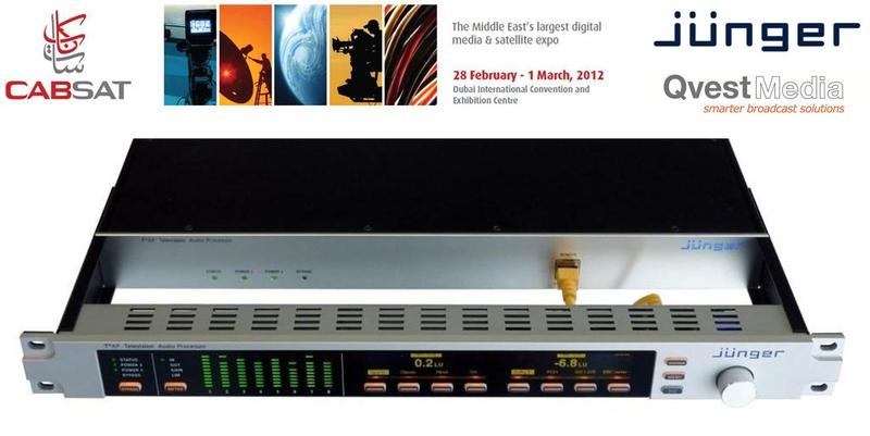 Junger T*AP Television Audio Processor Update