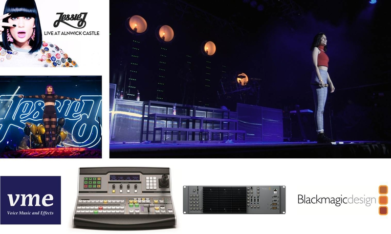 Atem Used For Live Switching At Sell Out Jessie J Concert Live Production Tv