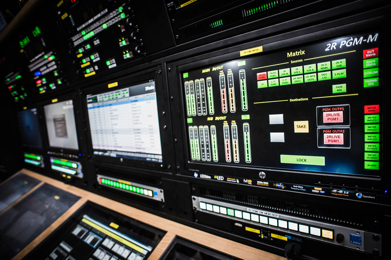 Kbs Radio With New Lawo Equipped Master Control Room Live