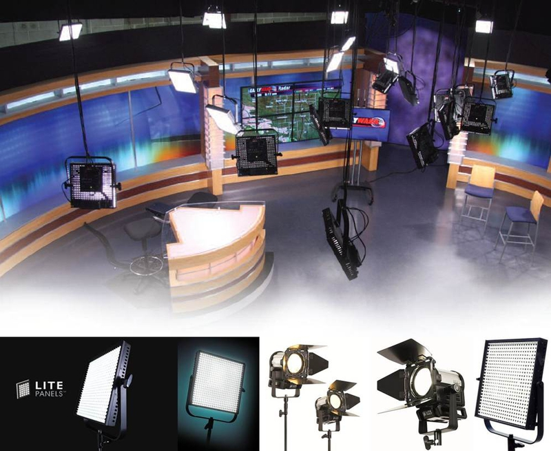 Broadcasters Become Eco Smart With Led Lighting Live
