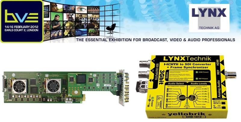 LYNX Technik Brings Affordable Bricks to BVE 2012 | LIVE