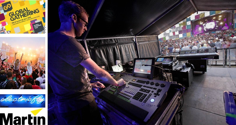 Martin M1 Lighting Desk Of Choice On Global Gathering