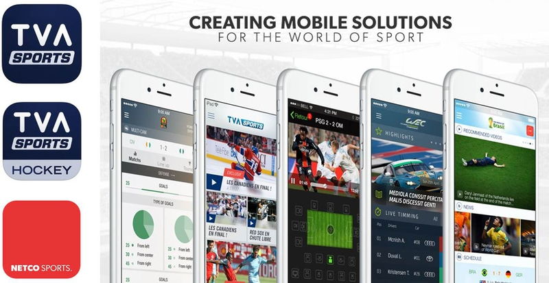 Netco Sports Has Launched The Official Tva Hockey App And Tva Sports App Live Production Tv