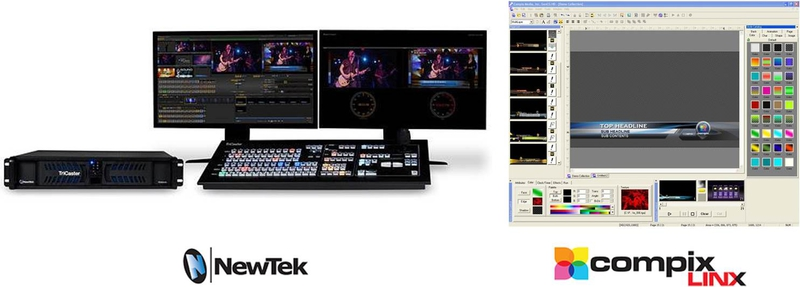 Compix Linx Software-Based Character Generator for NewTek's