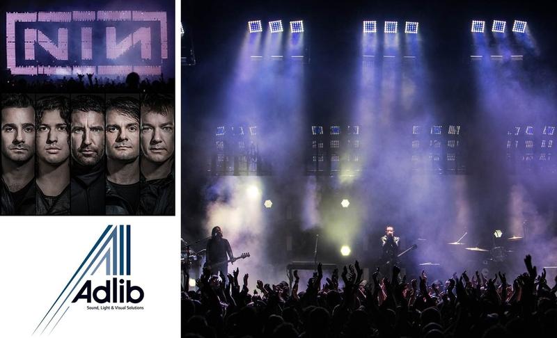 ADLIB on Nine Inch Nails 2014 European Tour | LIVE-PRODUCTION.TV