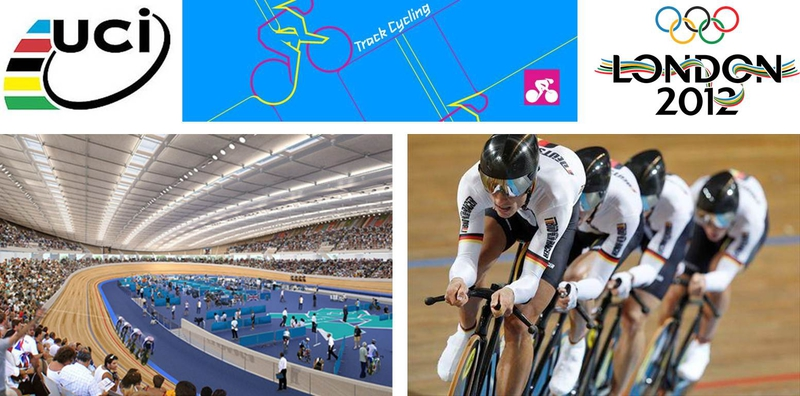 The London 2012 Track Cycling Events Will Take Place At Velodrome In Olympic Park