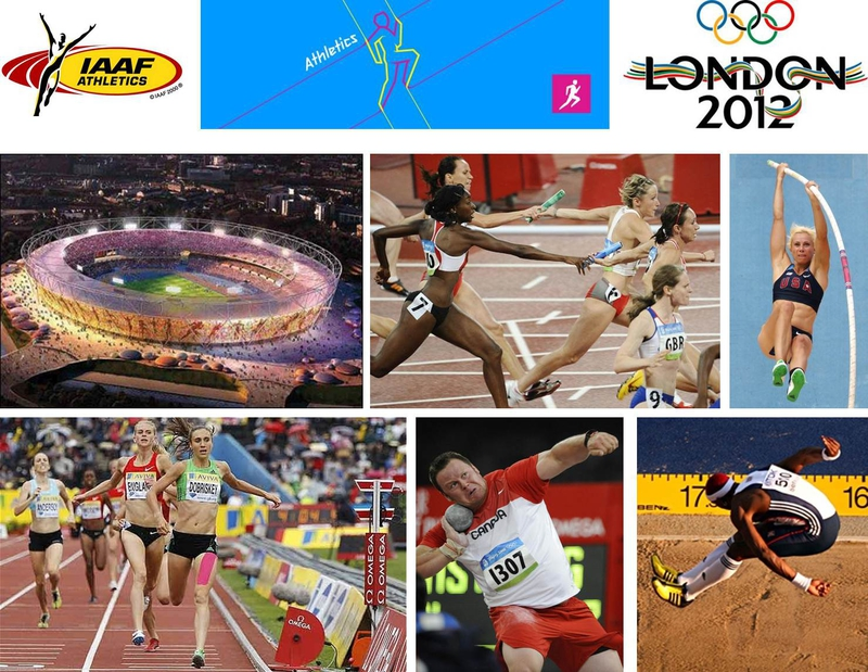 The London 2012 Athletic Events Will Take Place At Olympic Stadium In Park