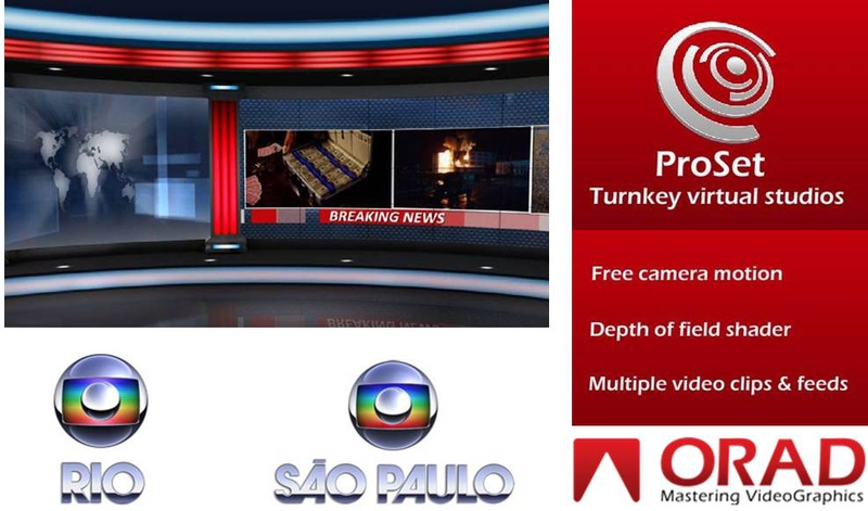 TV Globo Rely on Orad's ProSet...