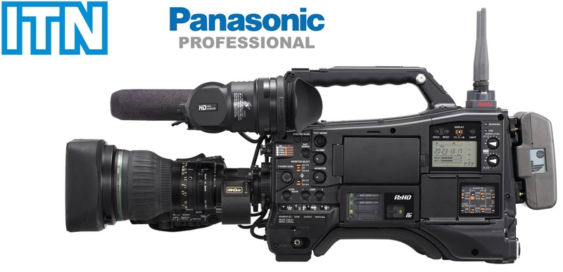 Panasonic awarded itn camera contract live production tv for Camera it web tv