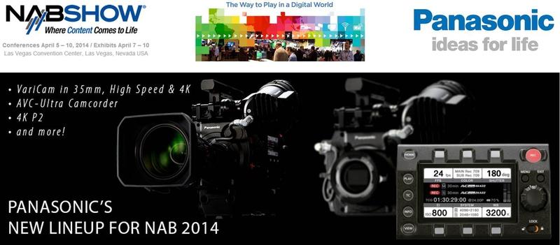 Panasonic Presents 4K Outlook at NAB 2014 | LIVE-PRODUCTION TV