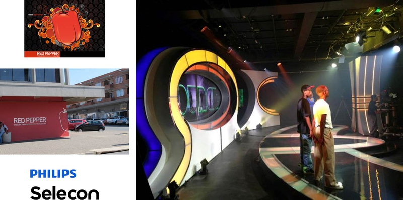 Red Pepper Specified The Remarkable Led Technology Of Philips Selecon For Three New Prime Time Hows