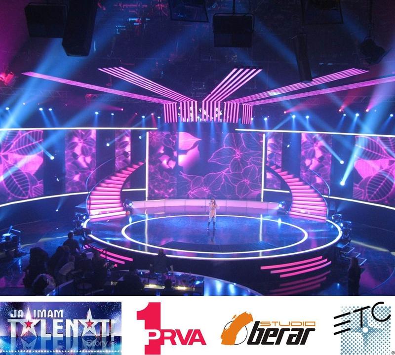 Serbian TV Success for ETC | LIVE-PRODUCTION TV