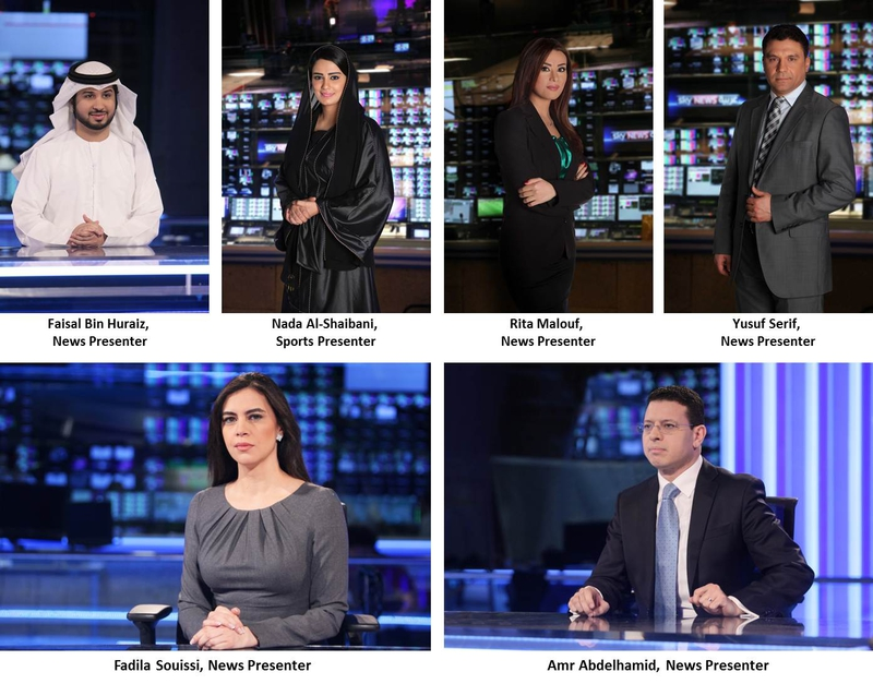 Sky News Arabia Unveils First Presenters | LIVE-PRODUCTION TV