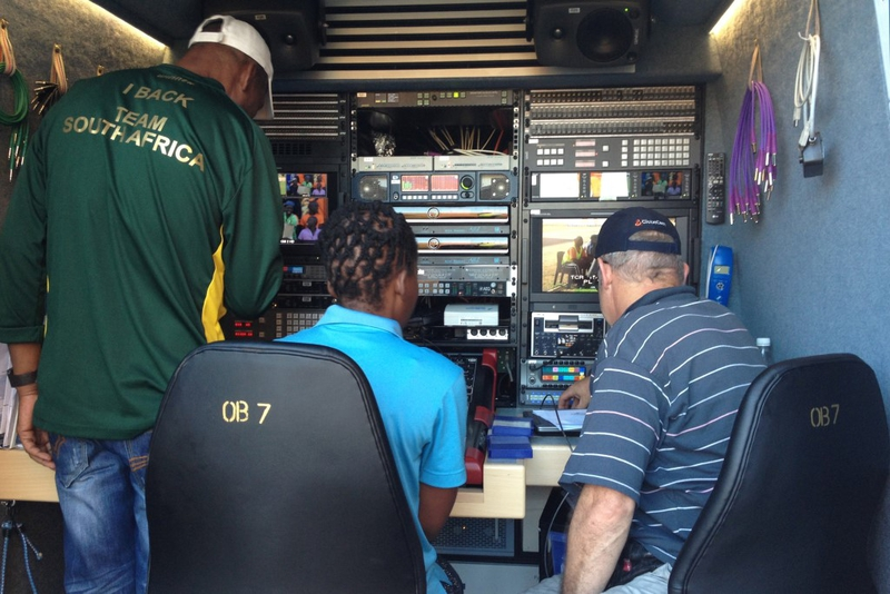SuperSport South Africa's OB7HD and OB8HD Equipped with RTS