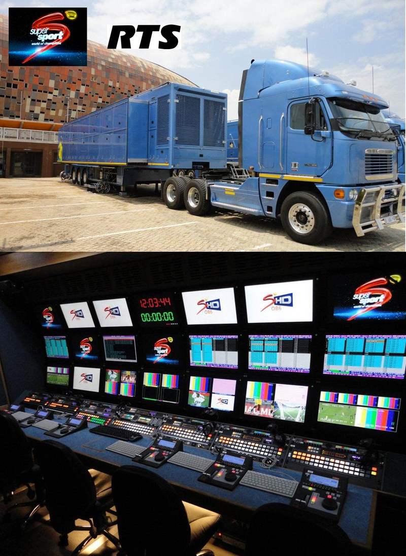 SuperSport Relies on RTS/TELEX in New OB Truck | LIVE