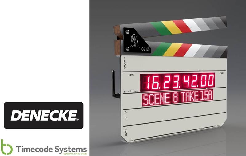Denecke TS-TCB Intelligent Hardware Clapper Slate With