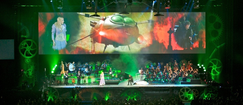 War Of The Worlds New Generation: Red TX Records The Audio For Jeff Wayne's Musical Version