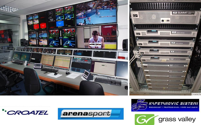 Grass Valley K2 Summit SAN Streamlines HD Playout for