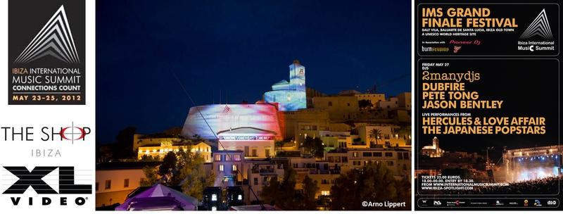 XL Video Supplies International Music Summit 2012 in Ibiza