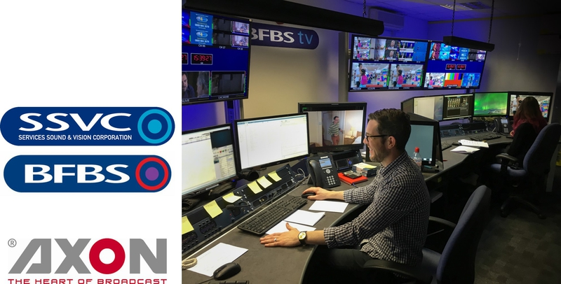 BFBS Strengthens New Playout Operation with Axon Control and