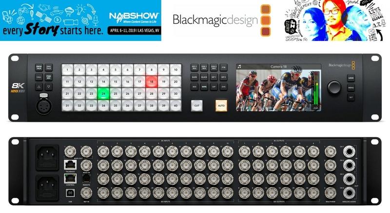 Blackmagic Design Announces New Atem Constellation 8k Live Production Tv
