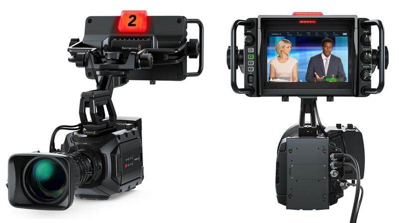 Blackmagic design announces new blackmagic ursa studio for Camera it web tv
