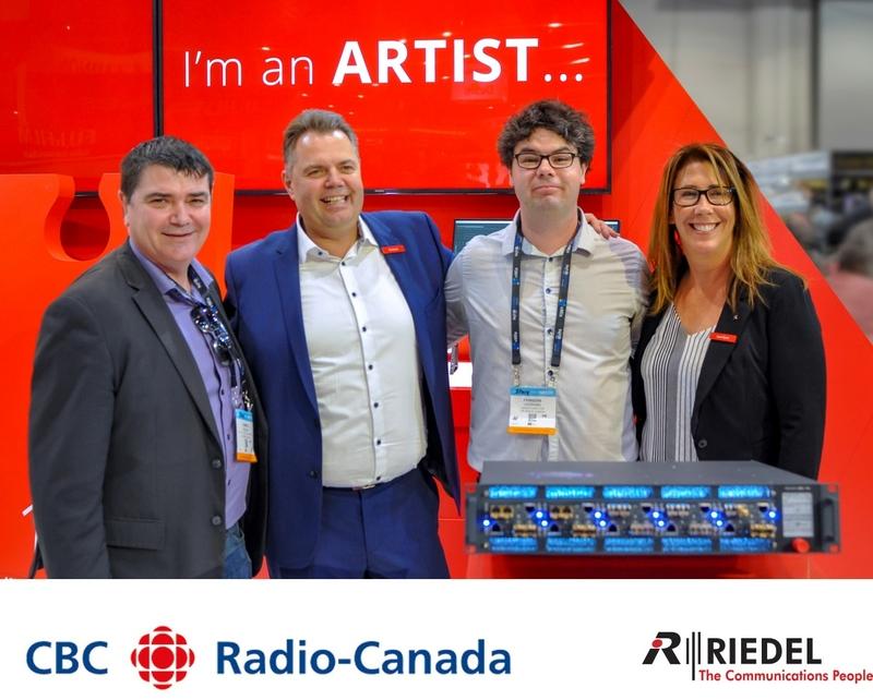 Canadian Public Broadcaster Cbc Radio Canada Chooses Riedel S Artist For New Maison De Radio Canada Live Production Tv