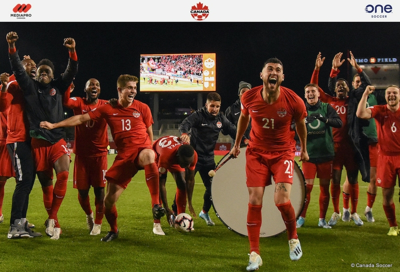 Onesoccer To Broadcast Live Coverage Of Canada Soccer S Men S National Teams In Fifa World Cup Qatar 2022 And Concacaf Men S Olympic Qualifying Live Production Tv