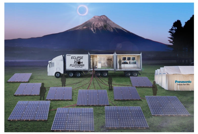 Panasonic to Broadcast Live the Annular Solar Eclipse from