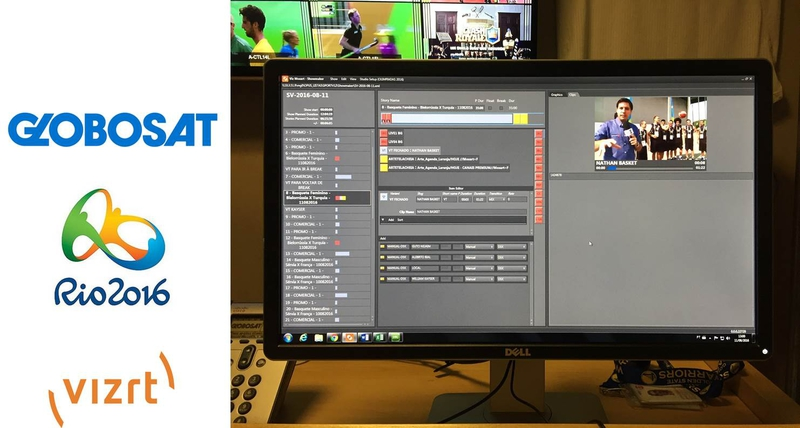 Globosat gives itself a Rio home-field advantage with Vizrt | LIVE
